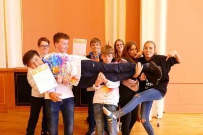 Bild der Meldung: AG Robotik gewinnt Förderpreis