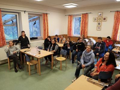 Foto zur Meldung: Fortbildungswochenende im CVJM Camp Storkow