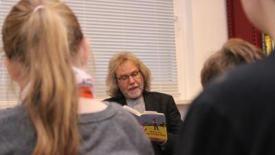 Foto zur Meldung: Vorlesetag begeisterte Calauer Viertklässler
