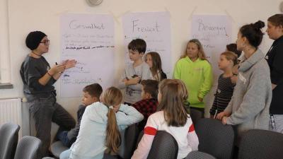Foto zur Meldung: Erste Kinder- und Jugendkonferenz in Lauchhammer