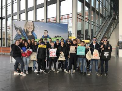 Bild der Meldung: Besuch der Messe Einstieg Berlin