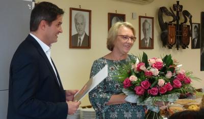 Foto zur Meldung: Auf Wiedersehen und alles Gute, Krysia!