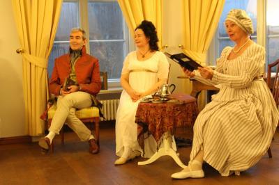 Foto zur Meldung: Fürstin Luise von Anhalt-Dessau und Hofkapellmeister Reichardt zu Gast in Reckahn