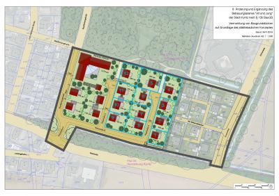 Vorschaubild zur Meldung: Vermarktung von Baugrundstücken im Wohngebiet Alt und Jung hat begonnen