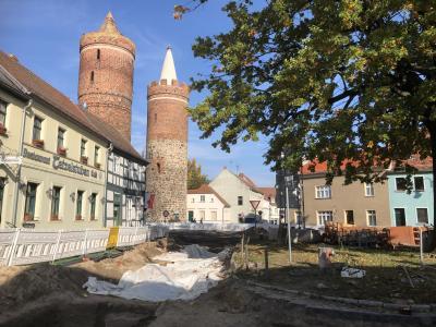 Vorschaubild zur Meldung: Archäologische Grabungen am Heilig-Geist-Platz