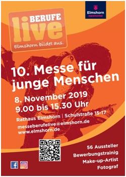 "Foto zur Meldung: Messe ""Berufe live"" am 08.11.2019"