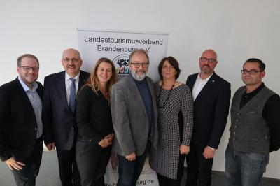 Foto zur Meldung: Der Landestourismusverband Brandenburg (LTV) macht sich mit einem neuen Vorstand fit für die nächsten vier Jahre.