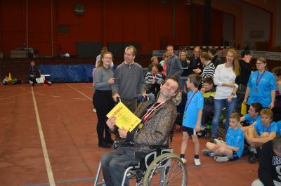 Foto zur Meldung: 20.Kreissportfest für Menschen mit Behinderung