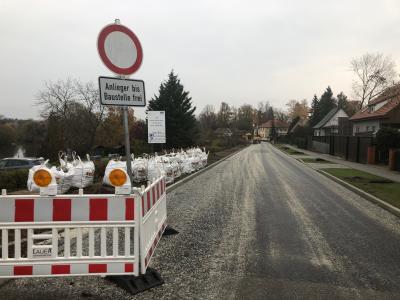 Foto zur Meldung: Bauarbeiten in der Friedensstraße starten demnächst