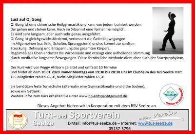 Vorschaubild zur Meldung: Qi Gong Schnuppertraining