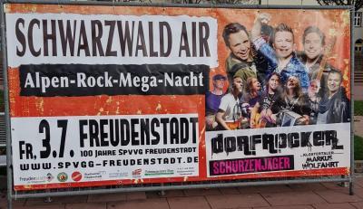 Foto zur Meldung: Schwarzwald Air / Alpen-Rock-Mega-Nacht mit den Schürzenjäger, Geri der Klostertaler und den Dorfrockern!! TICKETS!! VIP Tickets ausverkauft!!