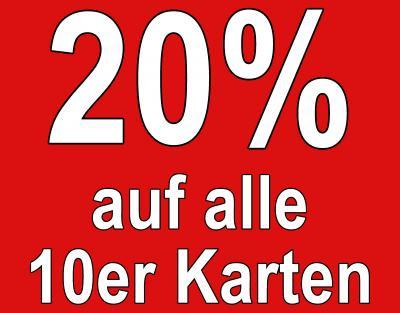 Vorschaubild zur Meldung: B1 Frühjahrsdeal 20% auf alle Zehnerkarten bis 17.02.