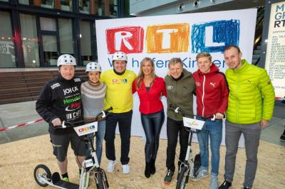 """Foto zur Meldung: Sportler des LAZ Puma Rhein-Sieg unterstützen den RTL Spendenmarathon """"Wir helfen Kindern"""""""