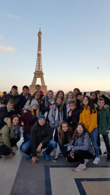 Vorschaubild zur Meldung: Frankreichaustausch: SHG-Schüler besuchten ihre Austauschpartner in St- Georges (Burgund)