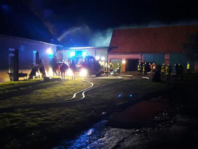 Vorschaubild zur Meldung: FEU G 00  - Wohnhausbrand / Werkstatt