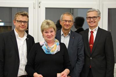Foto zur Meldung: BRK Kreisverband Bayreuth ehrt engagierte Blutspenderinnen und Blutspender