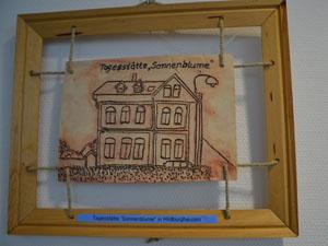 Foto zur Meldung: Hildburghäuser Stadtansichten in Ton – Ausstellung im Landratsamt