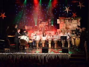 Foto zur Meldung: Sound of Silence – Auftritt zum Weihnachtskonzert der Musikschule Hildburghausen