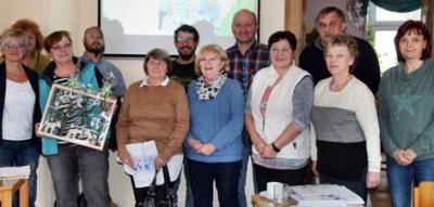 Foto zur Meldung: Erfolgreicher Kurs für Ehrenamtler