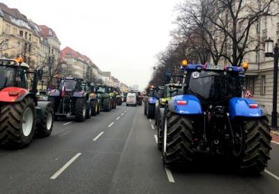 Foto zu Meldung: Bauernproteste in Berlin gehen uns alle an