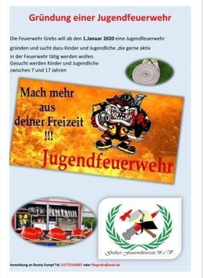 Foto zur Meldung: Grebser Feuerwehr will Jugendabteilung neu gründen