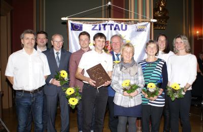 Vorschaubild zur Meldung: Eintrag in das Goldene Buch des Sports der Stadt Zittau