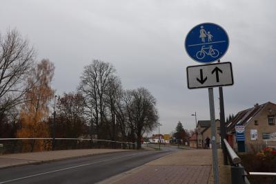 Vorschaubild zur Meldung: Änderungen in der Radverkehrsführung Graf-von-der-Schulenburg-Straße