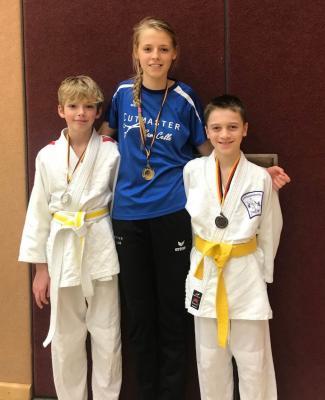 Foto zur Meldung: MTV Beedenbostel Silberner Tag für die Judoka