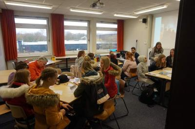 Foto zur Meldung: Teilnahme am Tag der beruflichen Bildung am BBZ