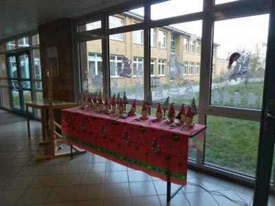 1. Weihnachtsmarkt in der Grundschule Baruth/Mark
