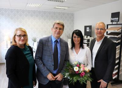 von links: Gabriele Hahn, Dr. Oliver Hermann, Nicole Stübner und Jens Knauer I Foto: Martin Ferch