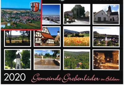 Neuer Kalender der Gemeinde Großenlüder