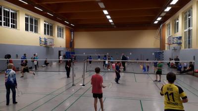 Foto zur Meldung: Badminton ist voll im Trend