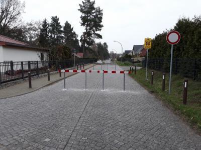 Sperrung der Friedrich-Ludwig-Jahn-Straße für den Fahrzeugverkehr