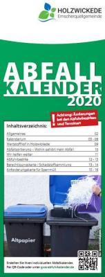 Foto zur Meldung: Abfallkalender 2020 sind gedruckt