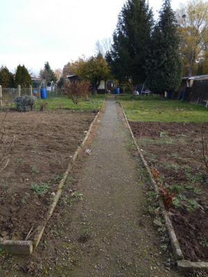 Garten in der Gartenanlage Borna