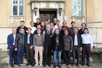 Vorschaubild zur Meldung: Vietnamesische Delegation im Rathaus begrüßt