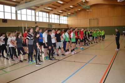Foto zur Meldung: Kreisfinale Volleyball WK II