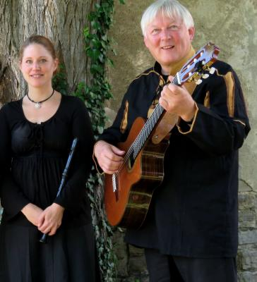 Konstanze Kuß und Fritz Baltruweit    Foto: privat