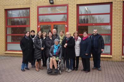 Foto zur Meldung: Brandenburger Integrationsbeauftragte trafen sich erstmals im OSL-Kreis