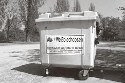 Vorschaubild zur Meldung: Dosencontainer werden abgezogen