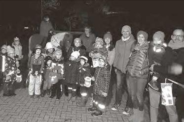 Foto zur Meldung: Martinsumzug Kindergarten Wirbelwind