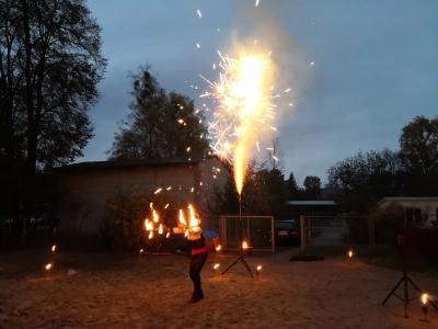 "Foto zur Meldung: ""Feuer""  in  Raxli-Faxli"