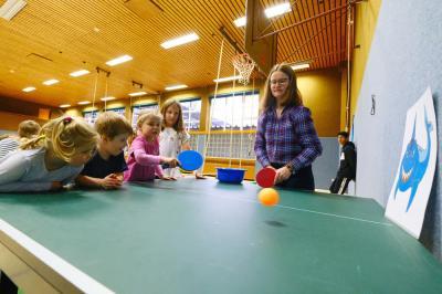 Tischtennis im Kindergartenalter