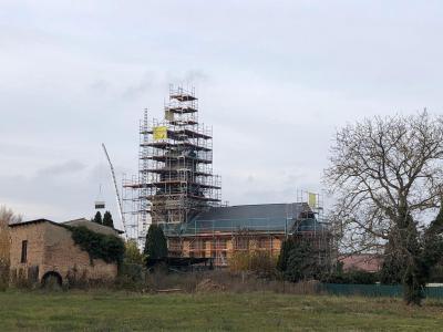 Foto zu Meldung: Initiative zur Rettung des Göhlsdorfer Kirchturmes