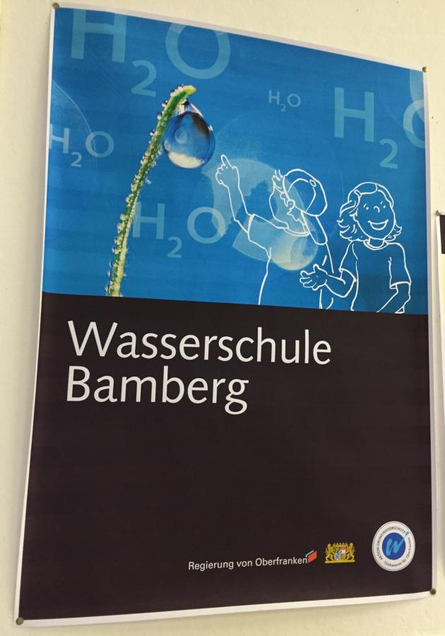 Bild der Meldung: Die Klasse 4a in der Wasserschule Oberfranken