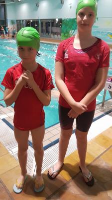 Foto zur Meldung: Laager Laufkinder waren Teil des Güstrower Spendenschwimmens