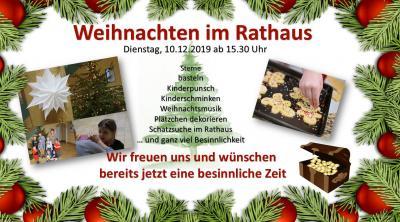 Vorschaubild zur Meldung: Niemegker Lebendiger Adventskalender am 10.12. im Rathaus