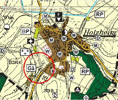 Vorschaubild zur Meldung: Öffentliche Bekanntmachung   Aufstellung eines vorhabenbezogenen Bebauungsplans Holzheim-Turmstraße