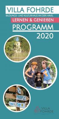 Jahresprogramm Titelseite